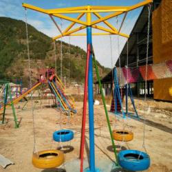 体能乐园类——旋转吊椅
