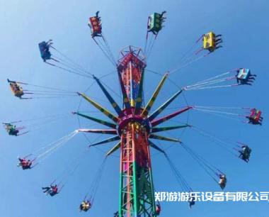社区公园里适合放飞行塔游乐设施吗?