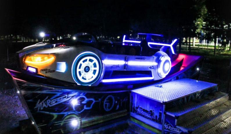 滑行车类—极速飞车(双 飘)