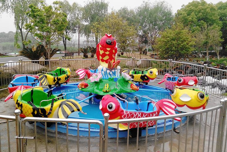 转马类—鲤鱼戏水