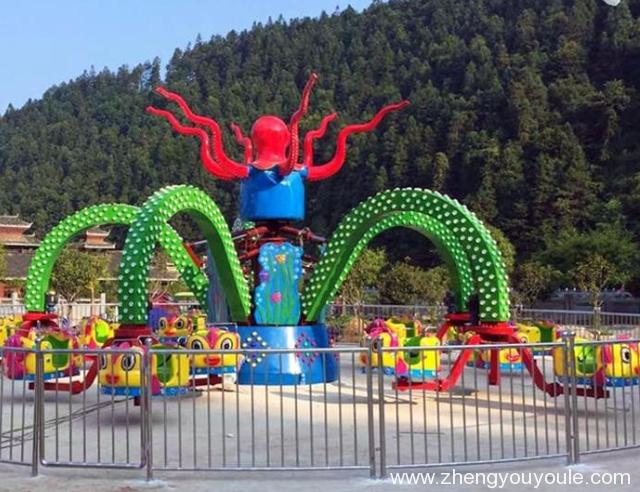 转马类—旋转大章鱼