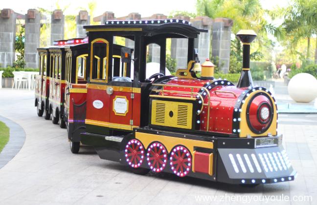 无轨观光小火车为什么会红火