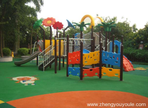 2020041915065153 - 别墅庭院儿童组合滑梯