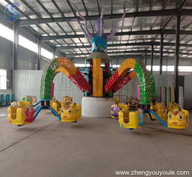 飞行塔类——欢乐大章鱼
