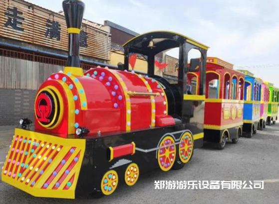 儿童小火车游乐设备趣味多插图