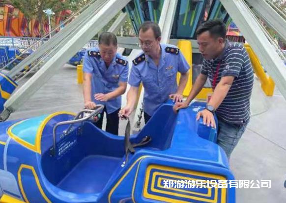 排查大型游乐设施 确保游客暑期安全插图